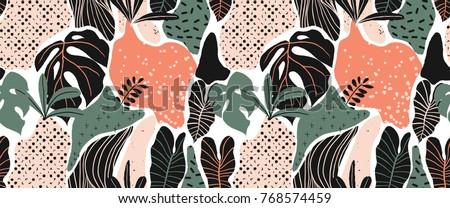 seamless pattern  hand drawn