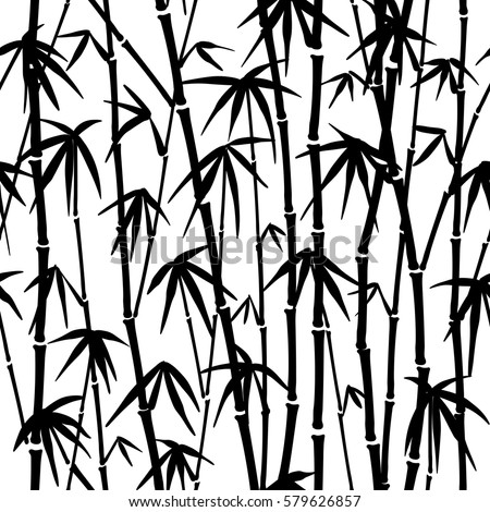 seamless pattern in black and