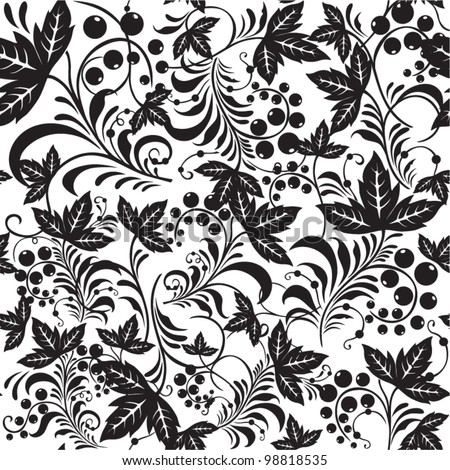Seamless pattern in russian style. Vector