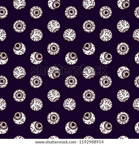 seamless pattern in the style