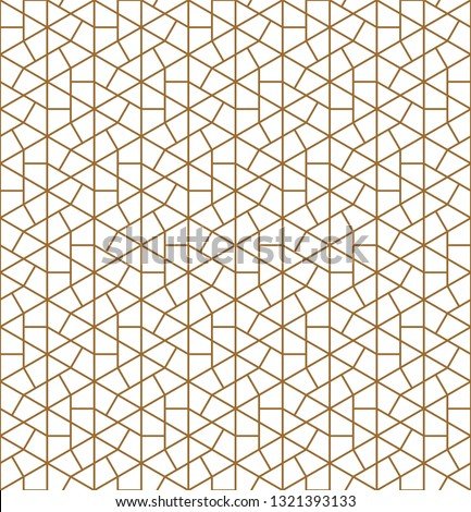 Seamless pattern japanese shoji kumiko.For template,fabric,textile,wrapping paper,laser cutting and engraving. Japanese pattern background vector.Average thickness lines.