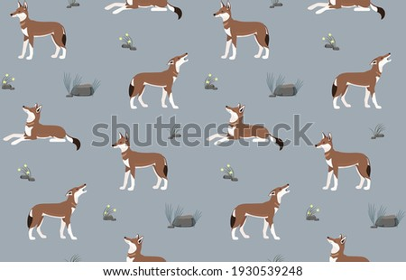 seamless pattern made of