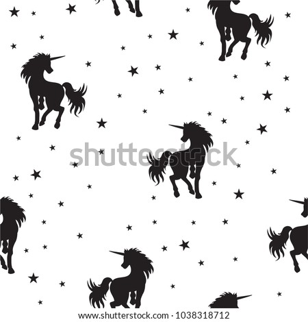 seamless pattern magical