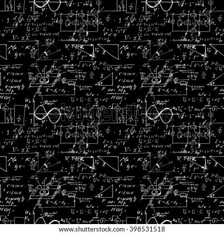 seamless pattern  mathematical