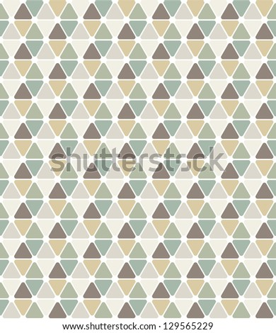 Seamless pattern. Modern stylish texture. Repeating abstract background with smooth triangles