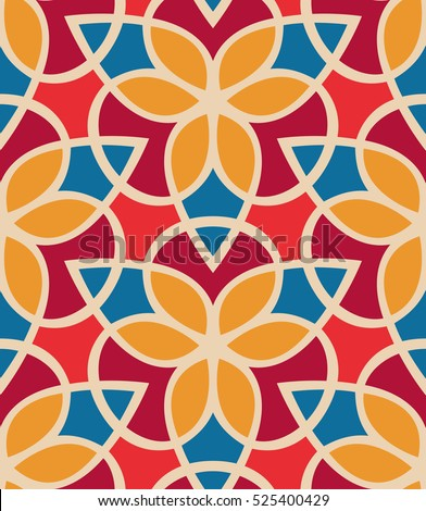 seamless pattern morrocan