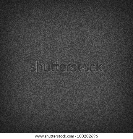 Seamless pattern noise effect grainy texture on dark gray background. Vector illustration saved in 10 ep