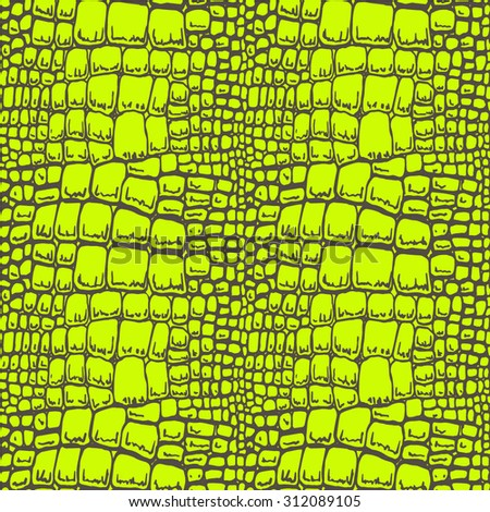seamless pattern of crocodile