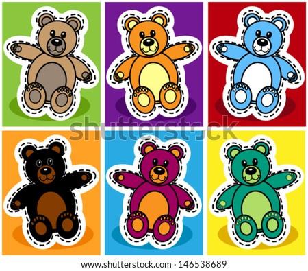 stock-vector-seamless-pattern-of-cute-cartoon-teddy-bear-over-patchwork-background-146538689.jpg