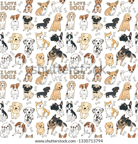 Pet Clipart Cartoon Dog Breed Clipart Stunning Free Transparent Png Clipart Images Free Download