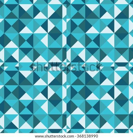 seamless pattern of geometric