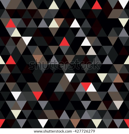 seamless pattern of geometric