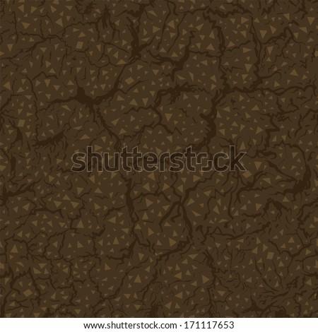 seamless pattern of ground