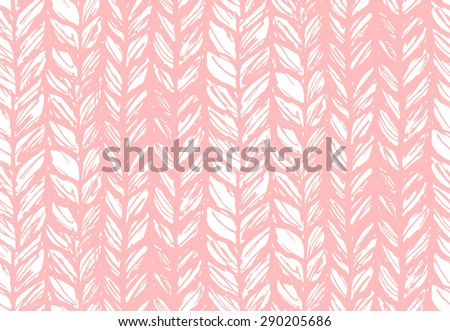 seamless pattern of knitting