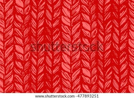 seamless pattern of knitting