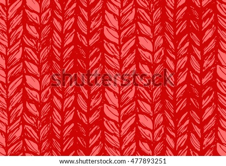 stock vector seamless pattern of knitting braids endless texture stylized sweater fabric texture for web 477893251 - Каталог — Фотообои «Текстуры»