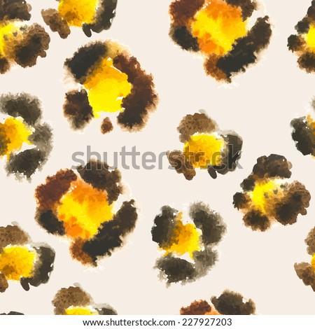 seamless pattern of leopard