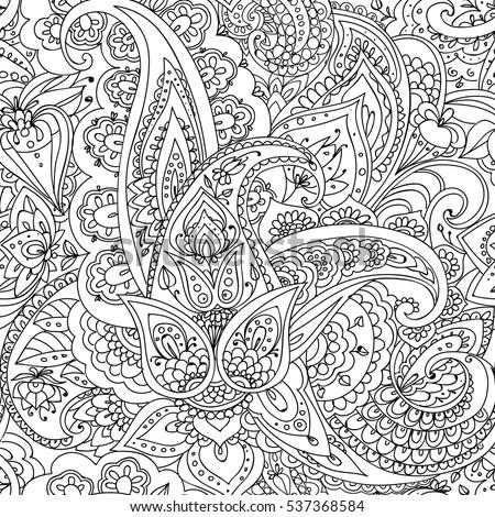 seamless pattern of