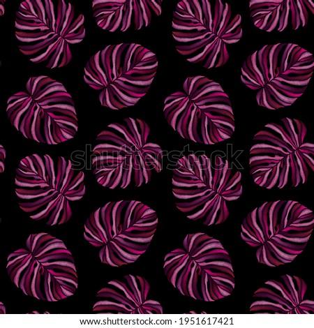 seamless  pattern of pink