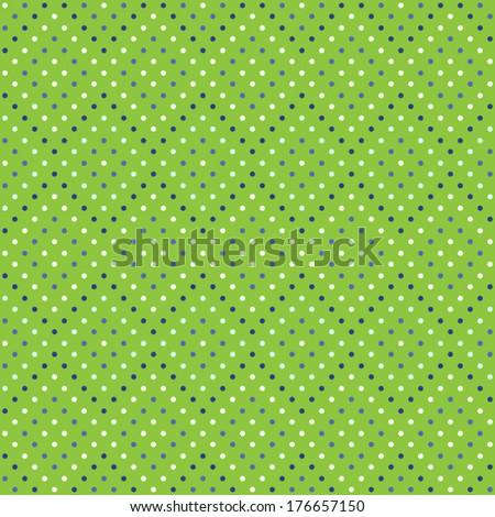 seamless pattern of polka dots