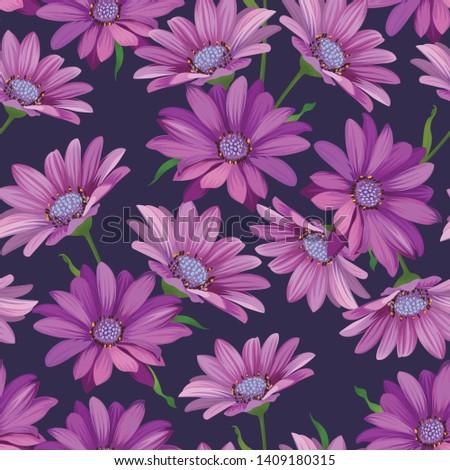 seamless pattern of purple