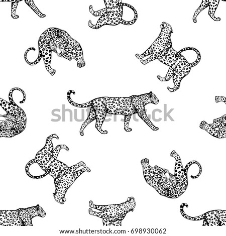 seamless pattern of sketch