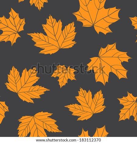 seamless pattern of stylized