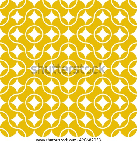 seamless pattern of tennis
