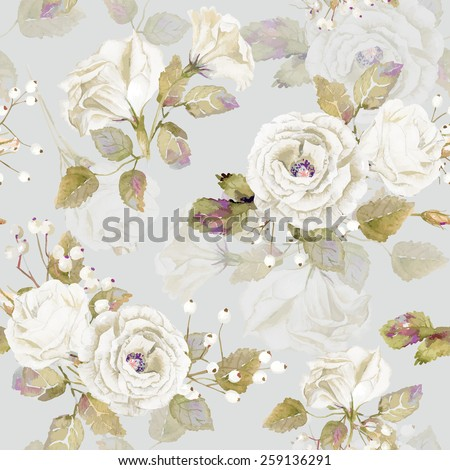 seamless pattern of vector