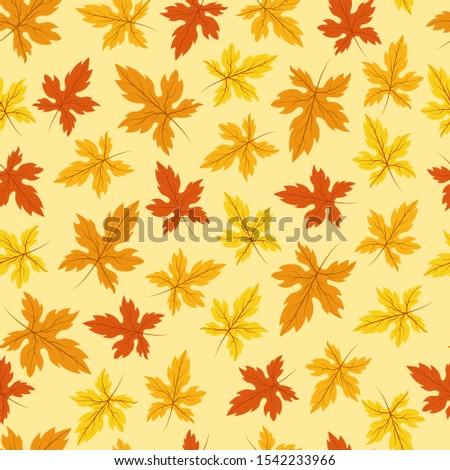 seamless pattern of yellow and