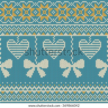Geometric Hearts Seamless Vector Pattern Download Free Vector Art