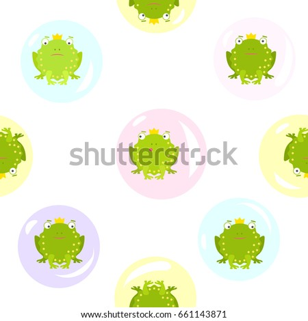 seamless pattern on transparent