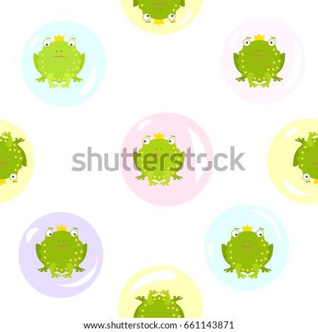 seamless pattern on transparent