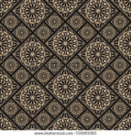 seamless pattern oriental