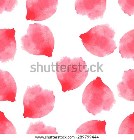 seamless pattern  petals of
