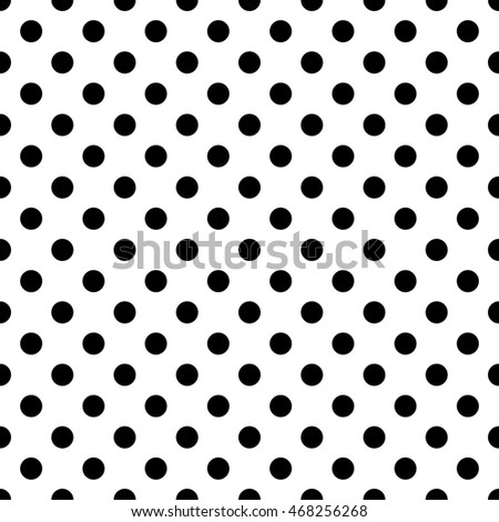 Seamless pattern pois, dot, pattern, background, black, vector, grid, white, seamless, pois, print, repeating, gingham, crafts, clothing, plaid, cloth, checkerboard, sphere, round, design, wallpaper Photo stock ©