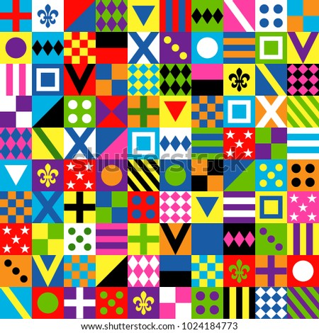 Seamless pattern. Print jockey uniform. Traditional design.Clothes, uniforms, jacket. Horse riding. Horse racing. Icons set. Vector illustration.