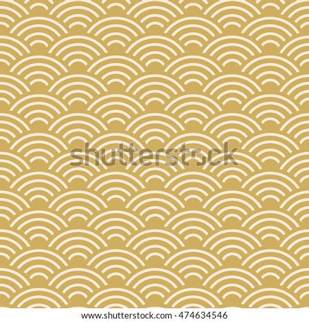 seamless pattern scales simple