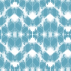 Seamless pattern Shibori in Indigo color. Digital Quilting Arts. Tie-dye. Tied and dyed - is a manual resist dyeing technique, of Japanese artisan design which produces patterns on fabric.
