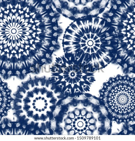 seamless pattern shibori in