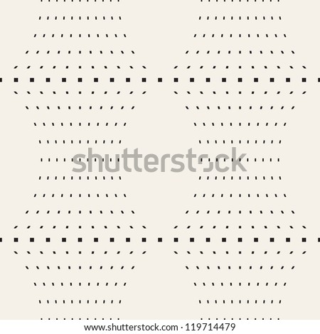 Seamless pattern. Simple geometric texture