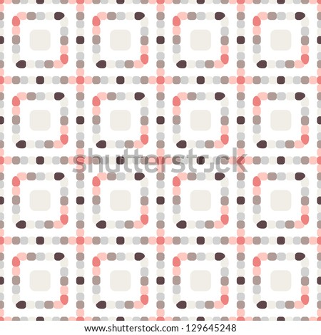 Seamless pattern. Squares of the dots