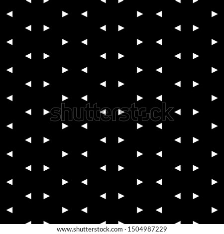 Seamless pattern. Triangular shapes wallpaper. Triangles ornament. Geometric backdrop. Figures background. Polygons motif. Digital paper, textile print, web design, abstract. Vector.