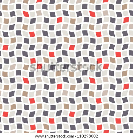 Seamless pattern. Vector abstract background. Cool cell structure