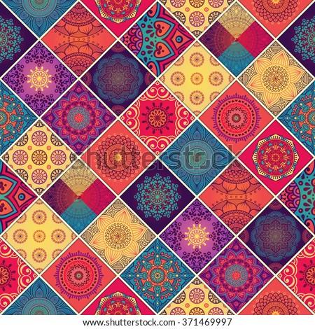 seamless pattern vintage