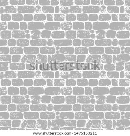 seamless pattern wall of gray