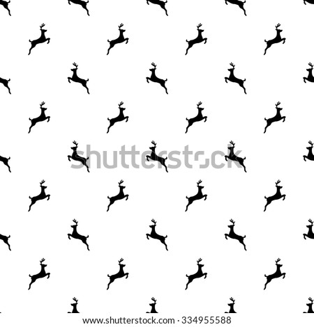 seamless pattern with a black