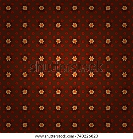 seamless pattern with a brown