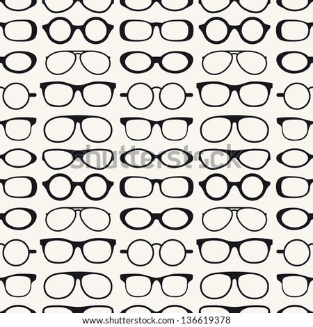 seamless pattern with a lot of