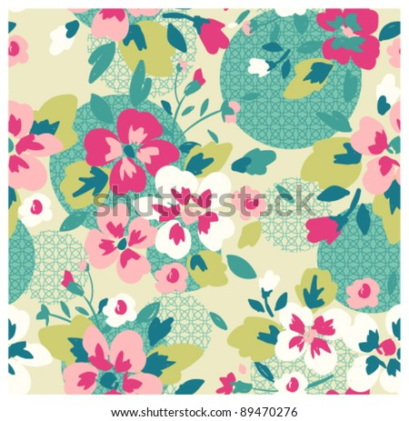 seamless pattern with abstract background